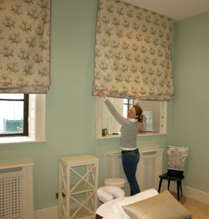 Is Interiors Bespoke Roman Blinds By Dublin Curtain Maker And Soft